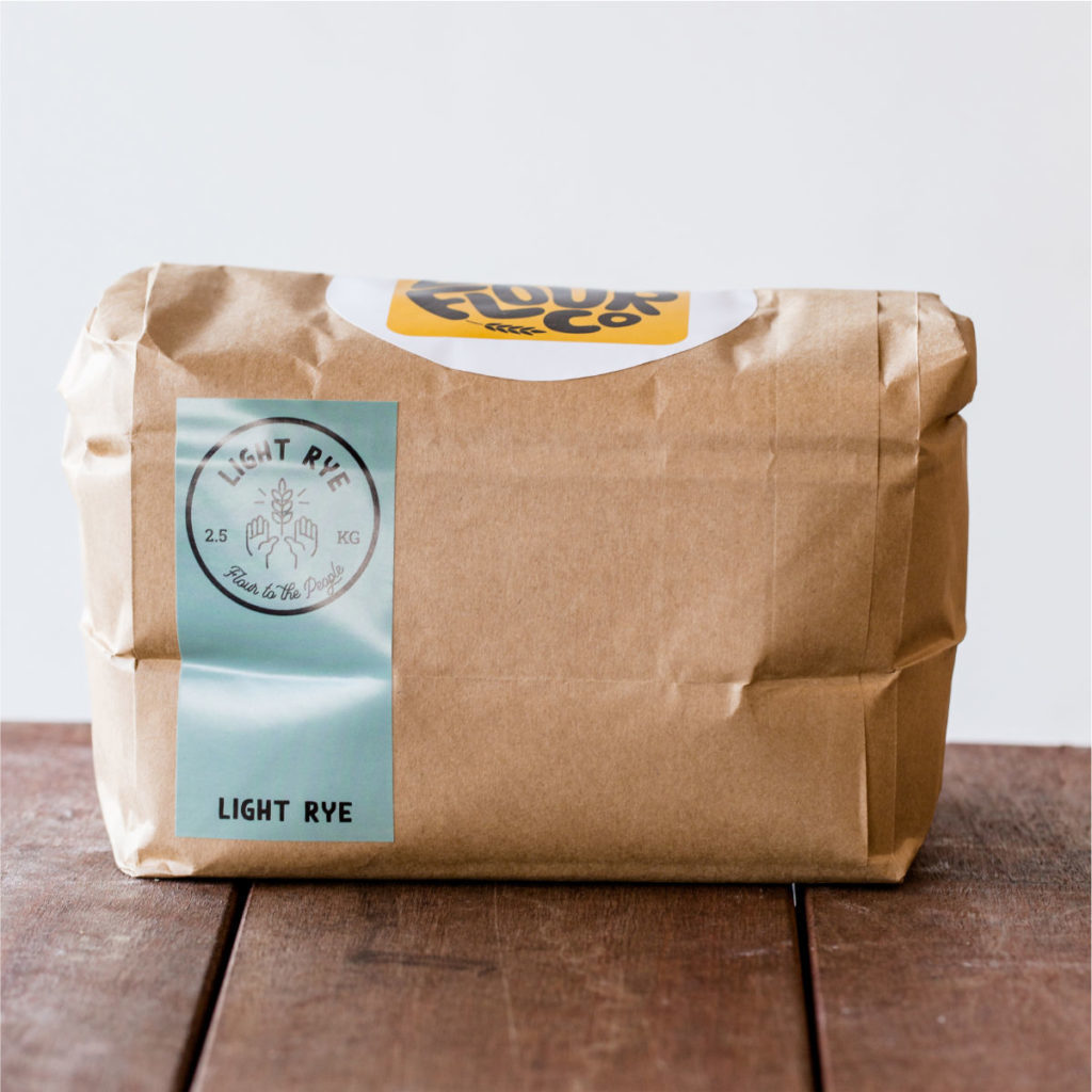 Light Rye Flour 2.5kg - Local Flour Co